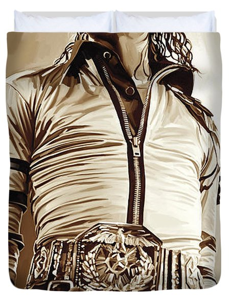 Michael Jackson Artwork 2 Duvet Cover