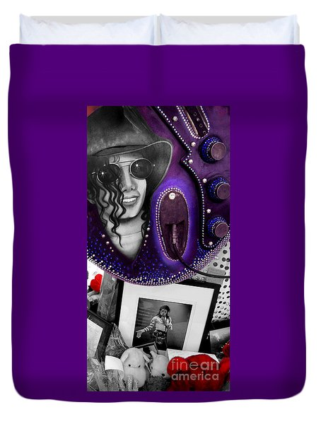 Michael's Memorial Duvet Cover