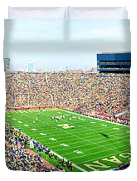 Michigan Stadium Duvet Cover