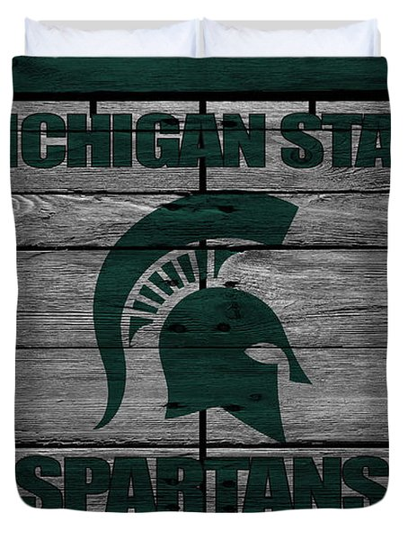 Michigan State Spartans Duvet Cover