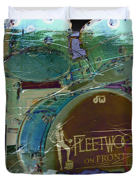Mick's Drums Duvet Cover