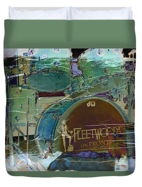Mick's Drums Duvet Cover