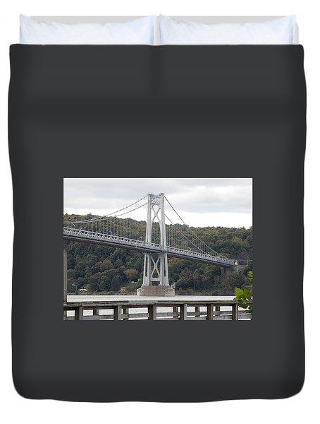 Mid Hudson Bridge Duvet Cover