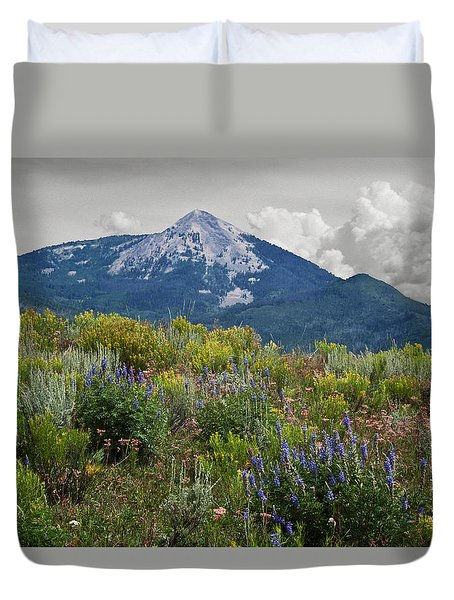 Mid Summer Morning Duvet Cover