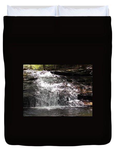 Middle Chapel Brook Falls Duvet Cover