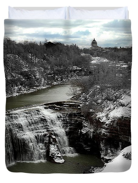 Middle Falls Rochester Ny Duvet Cover