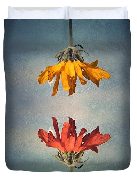 Duvet Cover featuring the photograph Middle Ground by Tara Turner
