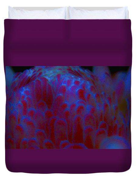 Midnight Bloom Duvet Cover