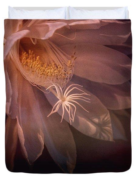 Midnight Bloomer Duvet Cover