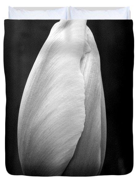Midnight Blossom Duvet Cover