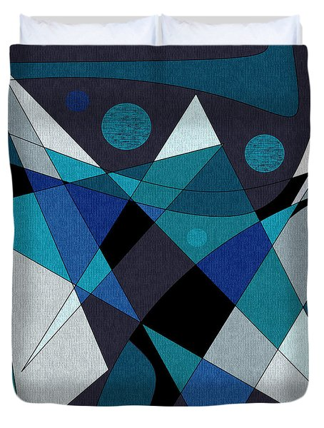 Midnight Jazz Duvet Cover