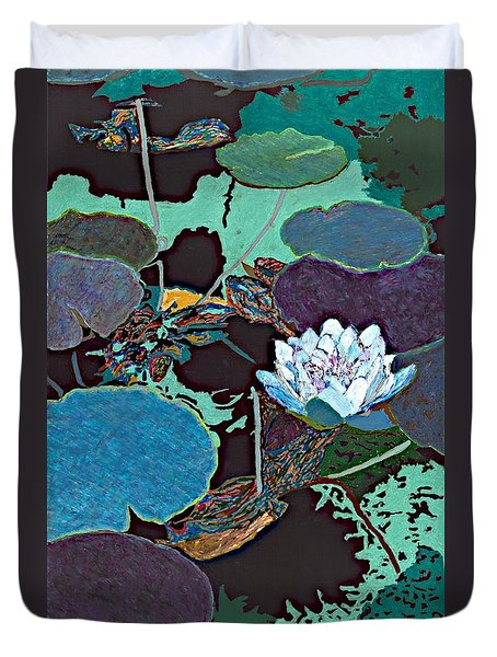 Midnight Moonglow Duvet Cover by Allan P Friedlander