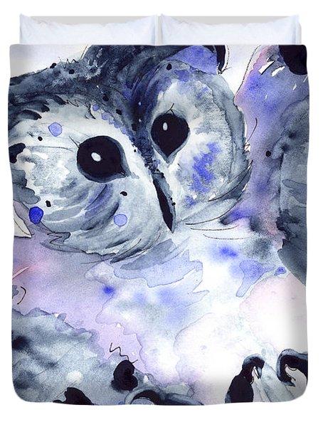 Midnight Owl Duvet Cover