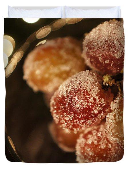 Midnight Snack Duvet Cover by Susan Bordelon