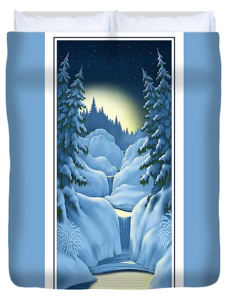 Midnight Sun Duvet Cover