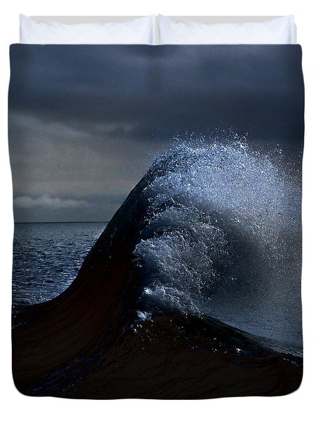 Midnight Swim Duvet Cover