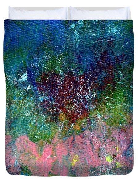 Midnight's Garden Duvet Cover