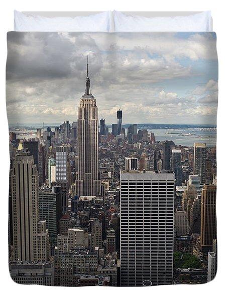 Midtown Manhattan Duvet Cover