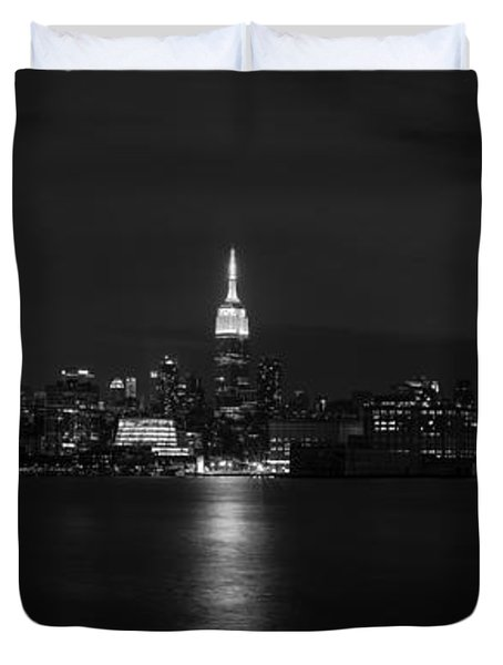 Midtown Manhattan Skyline Duvet Cover
