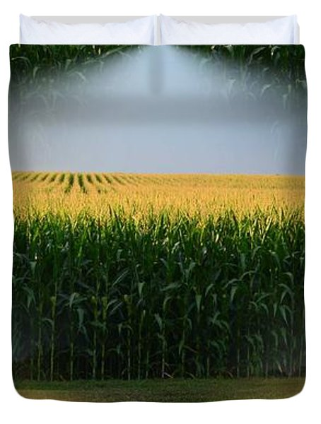 Midwest Gold Duvet Cover by Luther Fine Art