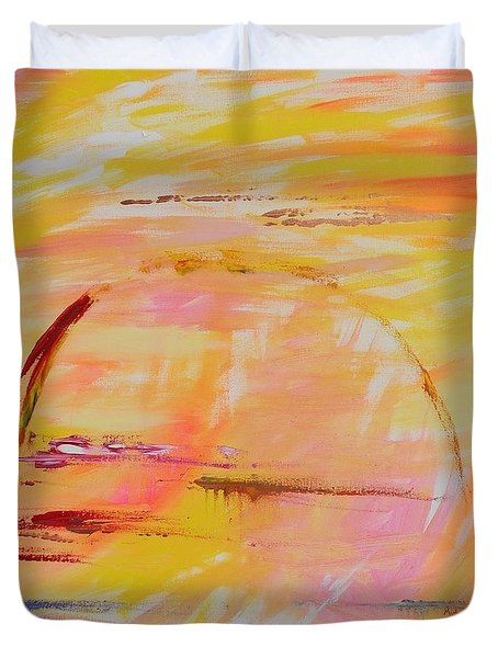 Midwest Sunrise Duvet Cover by PainterArtist FIN