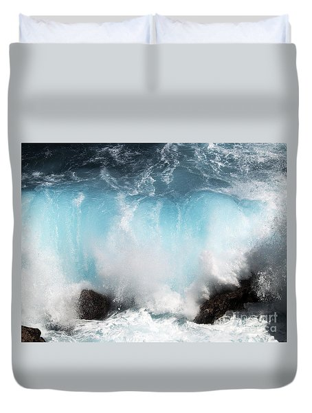 Might And Power Duvet Cover by Patricia Griffin Brett