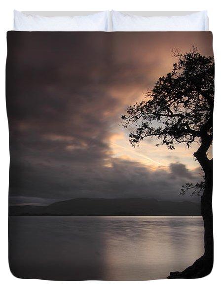 Milarrochy Bay Sunset Duvet Cover