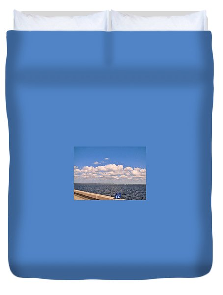 Mile 22 Duvet Cover