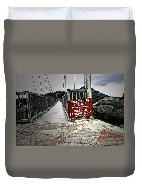 Mile High Duvet Cover