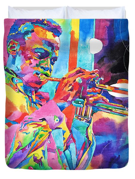 Miles Davis Bebop Duvet Cover