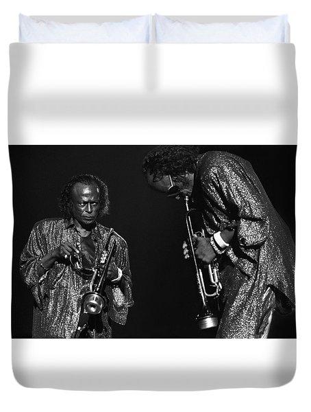 Miles Davis Duvet Cover
