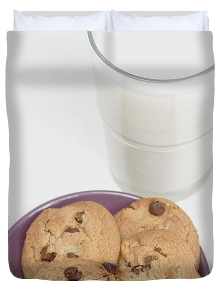 Milk And Cookies Duvet Cover by Greenwood GNP