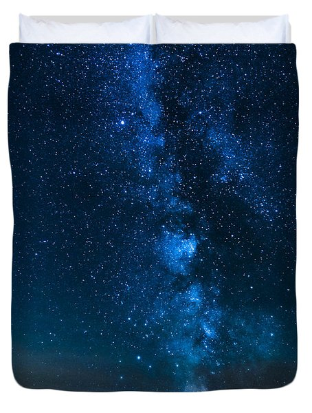 Milky Way Cherry Springs Duvet Cover