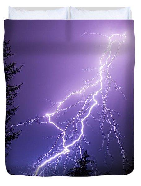 Mill Creek Lightning Duvet Cover