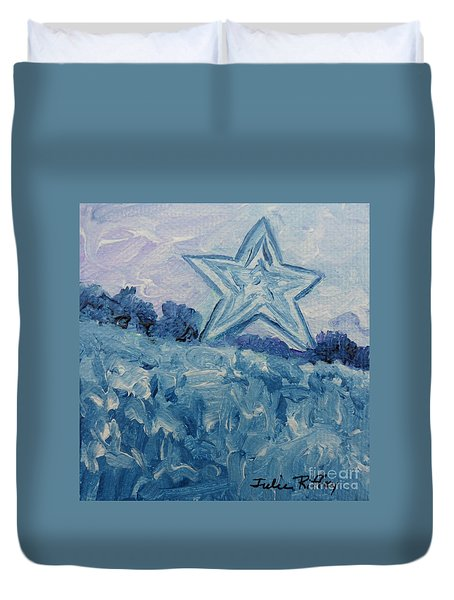 Mill Mountain Star Duvet Cover