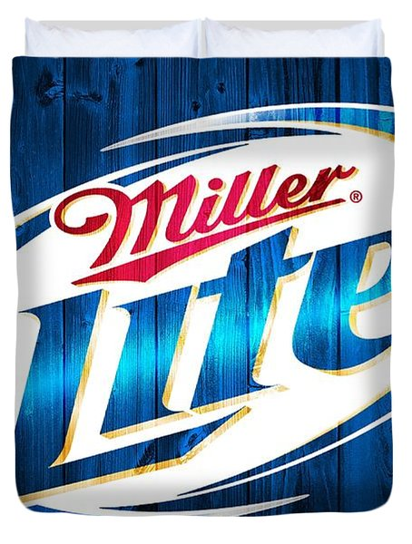 Miller Lite Barn Door Duvet Cover