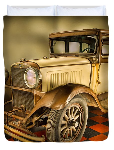 Millers Chop Shop 1929 Dodge Victory Six Before Duvet Cover