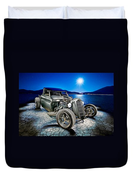 Millers Chop Shop 1964 Gmc Truck Duvet Cover by Yo Pedro