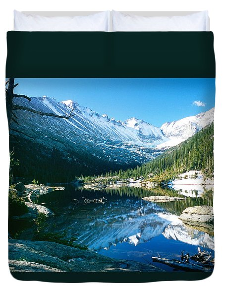 Mills Lake Duvet Cover