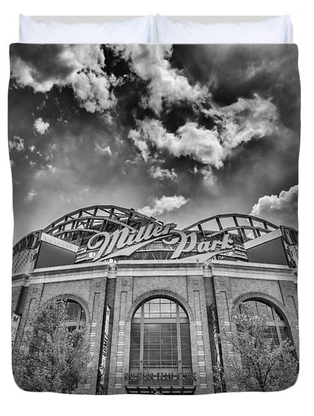 Milwaukee Brewers Miller Park 7 Duvet Cover