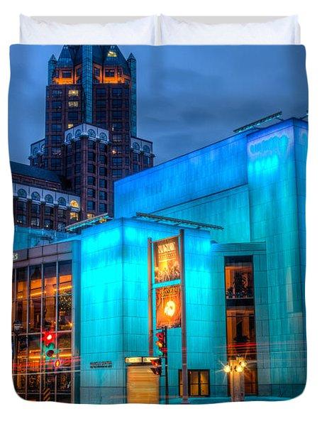 Milwaukee Pac Evening Glow Duvet Cover