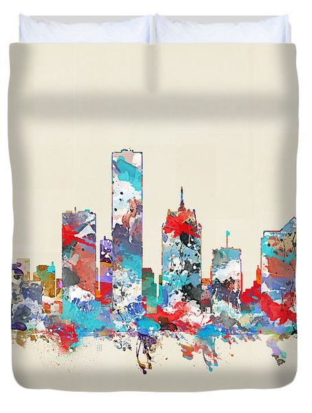 Milwaukee Wisconsin Duvet Cover