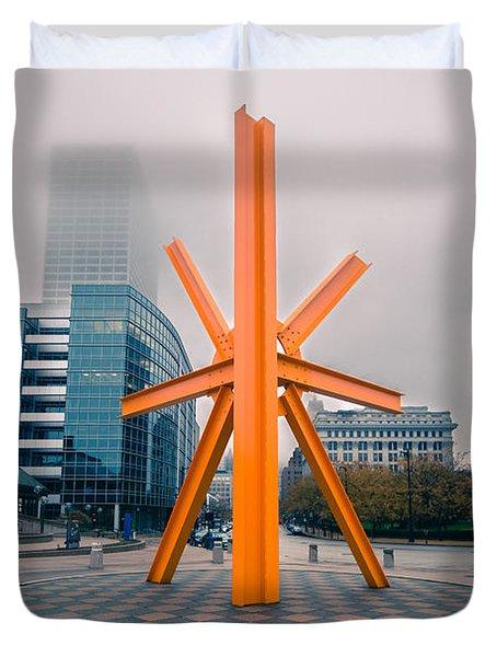 Milwaukee's Calling Duvet Cover