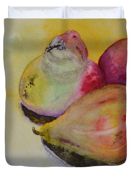 Mimi's Harvest Duvet Cover by Beverley Harper Tinsley