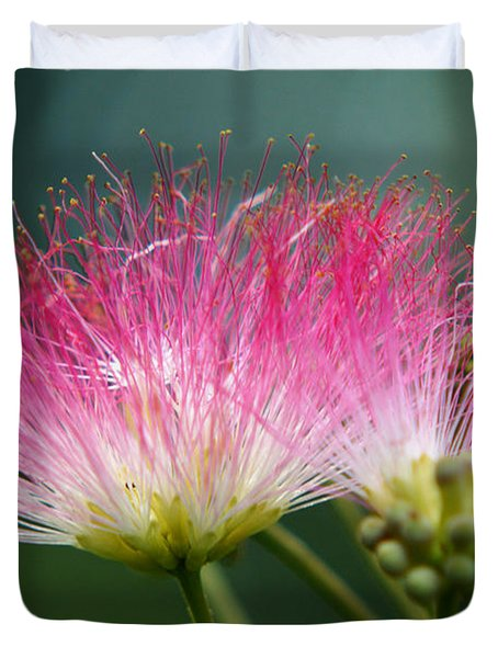 Mimosa Duvet Cover by Kim Pate
