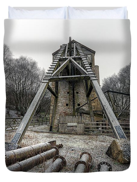 Minera Lead Mines Duvet Cover by Adrian Evans