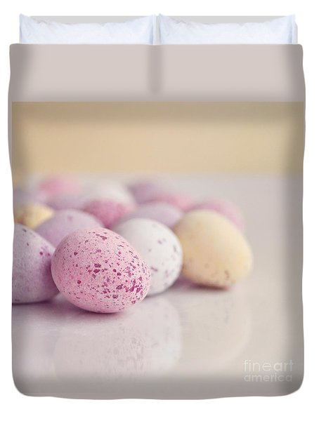 Mini Easter Eggs Duvet Cover