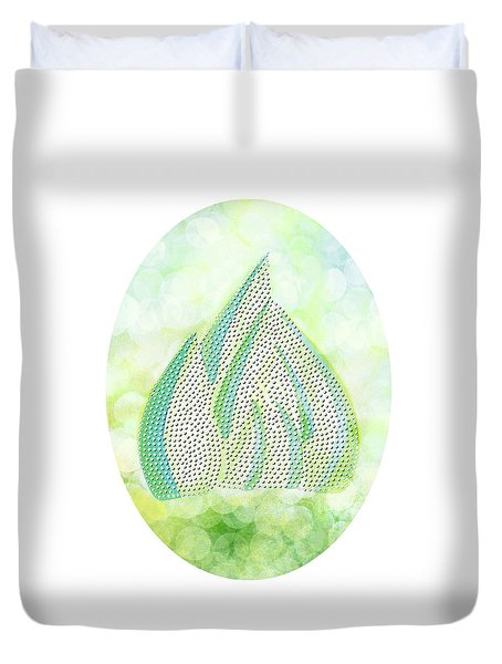 Mini Forest Illustration Duvet Cover