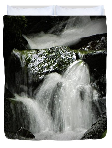 Mini Waterfall 2 Duvet Cover by Chalet Roome-Rigdon