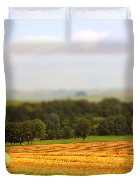 Miniature Countryside Duvet Cover by Vicki Spindler